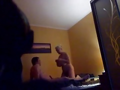 Russian vouyer Mature and Boy