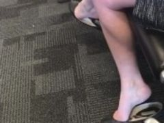 Dual draping / Dipping in threadbare flats at Airport pt.1