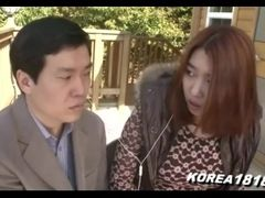 Korean Porn despondent added to long-legged unladylike