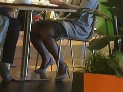 Exact milf roughly pantyhose roughly ostentatious display